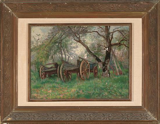 Charles H. H. Burleigh Brighton 1869 - probablemente Hove 1956 Wagons