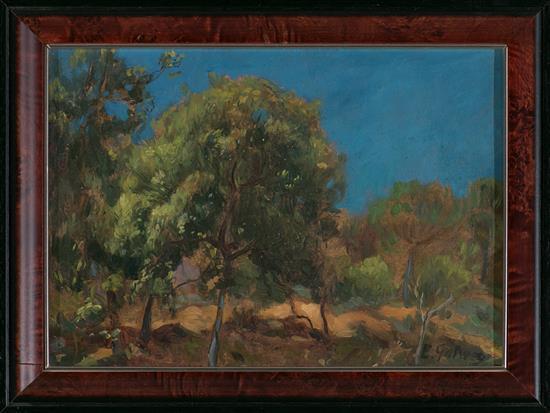 Enric Galwey Barcelona 1864 - 1943 Landscape