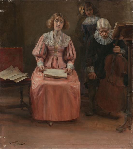 Román Ribera Barcelona 1849 - 1935 Recital