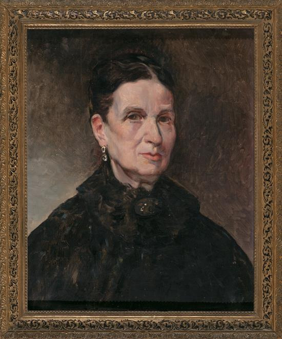 Valencian School, second half of the 19th Century  Female Portrait