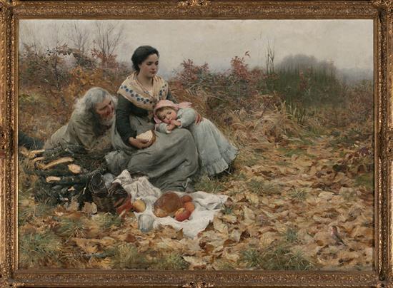 Alfred Edward Emslie Londres 1848 - 1918