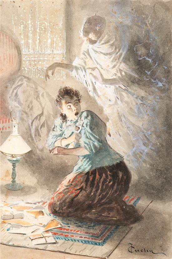 José Cuchy Arnau Arecibo 1860 - Barcelona 1925 Illustrations