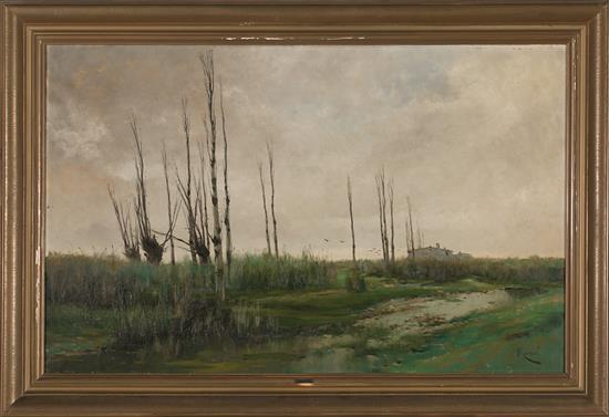 Eliseo Meifrén Barcelona 1857 - 1940 Rural View