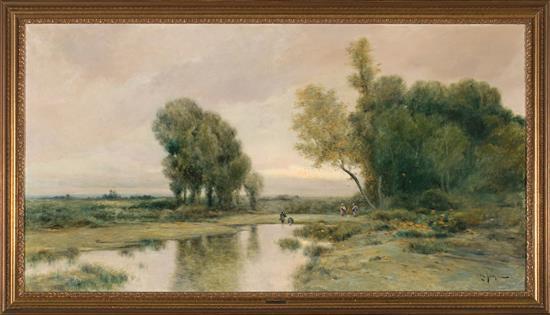 Tomás Sans Corbella Barcelona 1869 - 1911 Landscape
