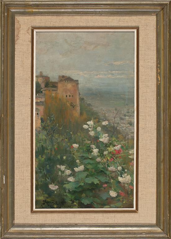 Arcadi Mas i Fondevila Barcelona 1852 - Sitges 1934 View of the Alhambra