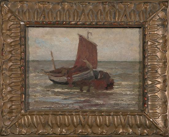 Edgar Farasyn Amberes 1858 - 1938 Ship