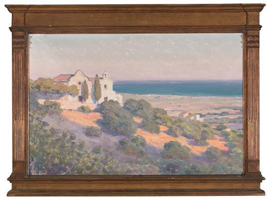 Dionís Baixeras Barcelona 1862 - 1943 View of Sitges