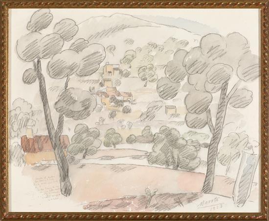 Gabriel García Maroto La Solana 1889 - México 1969 Mallorca Landscape