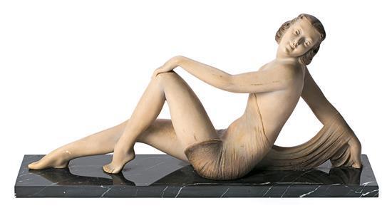 Según Salvatore Melani Italia 1902 - 1934 Joven Escultura en estuco