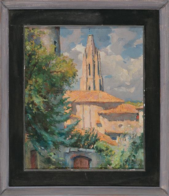 Oleguer Junyent Sans Barcelona 1876 - 1958 Rural View