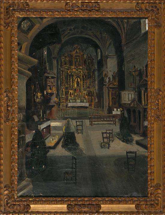 Vicente Rincón Garrigo Fuentes de Ebro 1892 - Barcelona 1958 Chapel