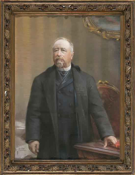 Félix Mestres Borrell Barcelona 1872 - 1933 Male Portrait