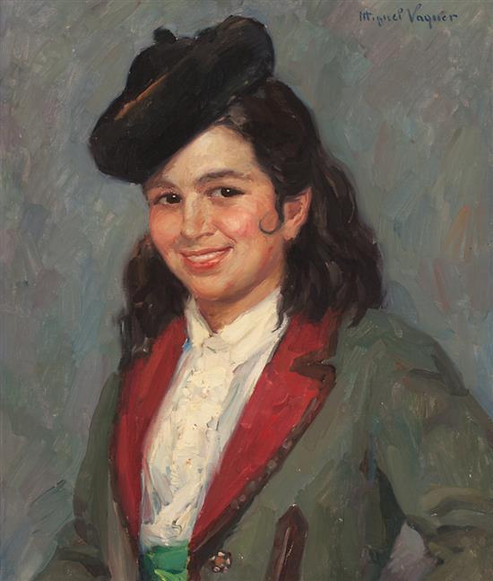 Miguel Vaquer Ondara 1910 - Valencia 1988 Curra de los Reyes
