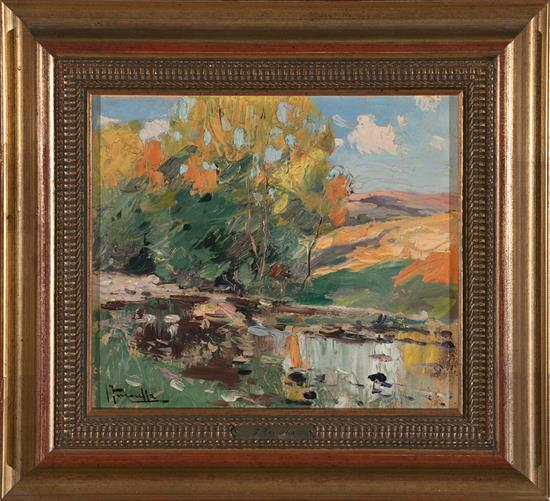 Joaquim Terruella Matilla Barcelona 1891 - 1956 Landscape