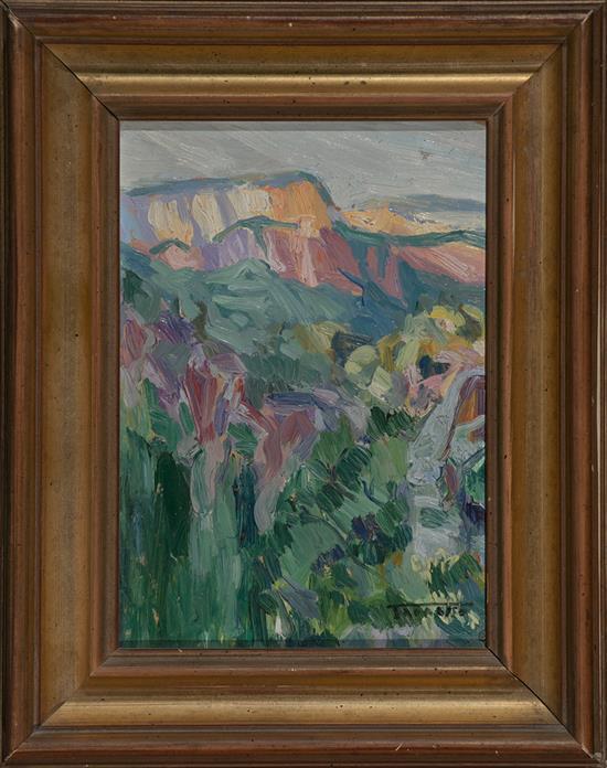 Casimir Martínez Tarrassó Barcelona 1898 - 1980 Landscape