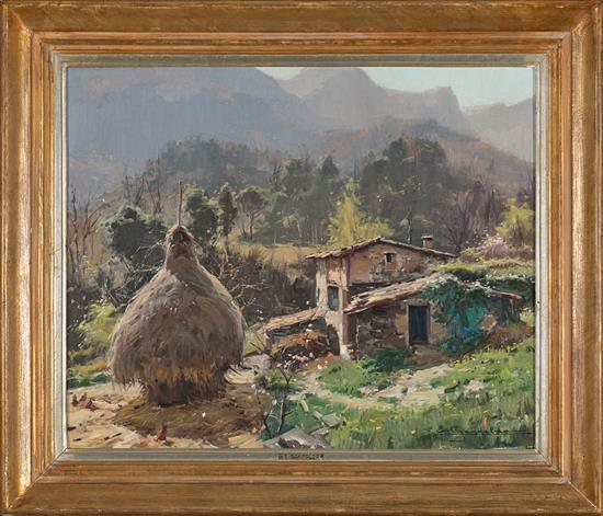 Elías Garralda Alzugaray Lesaka 1926 - Olot 2012