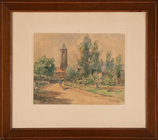 Ramon Barnadas Olot 1909 - Vic 1981 Landscapes