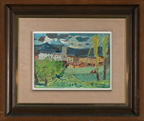 Pere Gussinyé Olot 1890 - 1980 Rural View