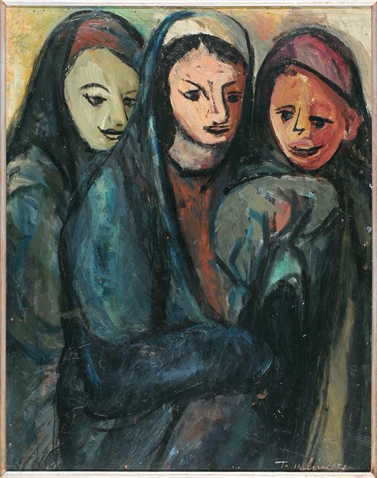 Tahia Halim Dongola 1919 - El Cairo 2003 Youths