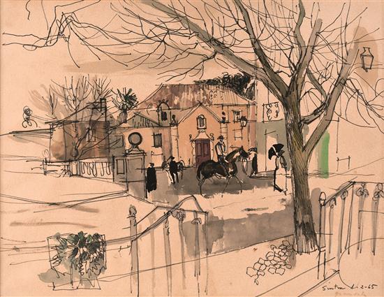 Emili Grau Sala Barcelona 1911 - Sitges 1975 Horses
