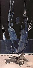 "Eduardo Sanz Santander 1928 - Madrid 2013 Fragmento mural para ""La Rana Loca"" de Laredo, Santander Óleo sobre tabla"
