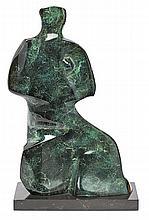 Emilia Xargay Sarrià de Ter 1927 Figura Escultura en bronce