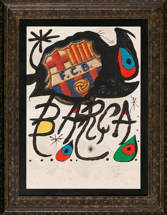 Joan Miró Barcelona 1893 - Palma de Mallorca 1983