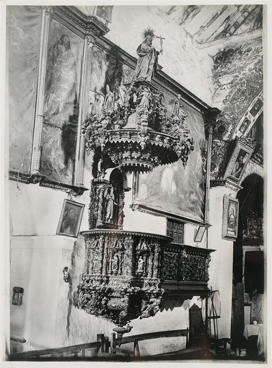 Martín Chambi Jiménez Coaza 1891 - Cuzco 1973 San Blas, San Antonio, Coro de la Merced, la Pomata and San Sebastián in Cusco, circa 192