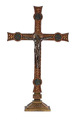 Frederic Marès Deulovol Port Bou 1893 - Barcelona 1991. Cruz de altar