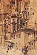 Ernst Graner Werdau 1865 - Vienna 1943 Saint Stephen Church, Vienna
