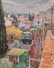 Jordi Freixas Cortés Barcelona 1917 - 1984 Urban Landscape