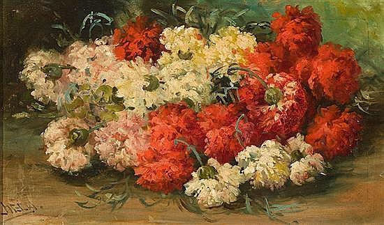 Felipe Checa Delicado Badajoz 1844 - 1907 Bodegón Óleo sobre lienzo