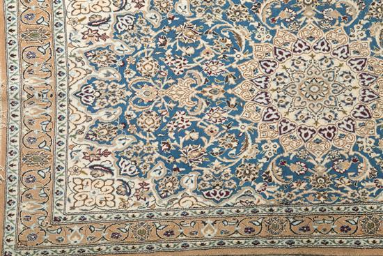 Three oriental wool and silk rugs mid 20th century for Alfombras orientales barcelona