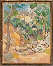 Pau Roig Cisa Premià de Mar 1879 - Barcelona 1955 Landscape