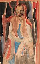 Francesc Domingo Segura Barcelona 1893 - São Paulo 1974 Portrait of a Young Brazilian