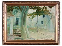 Eugenio Gómez Mir Granada 1877 - 1938 View of a Village