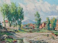 Josep Ventosa Domènech Barcelona 1897 - Port d'Andratx 1982 Landscape