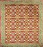 Spanish wool rug, in the style of Cuenca, second third of the 20th century, , 393x305 cm
