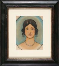 Ramón Pichot Gironés Barcelona 1872 - 1925 A young lady