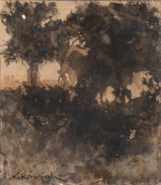 Nicolau Raurich Barcelona 1871 - 1945 A Forest