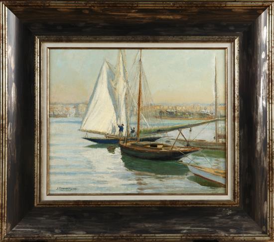 Joan Llaverias Vilanova i La Geltrú 1865 - Barcelona 1938 Seascape