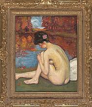 Ramón Pichot Gironés Barcelona 1872 - 1925 Female nude