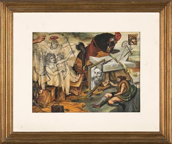 Eduardo Torassa Buenos Aires 1955 Allegory on Charles V