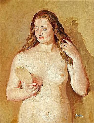 Josep Maria Prim (Barcelona, 1907-1973) Una joven