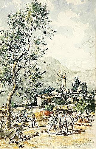 Joan Colom Agustí (Arenys de Mar, 1879-1969) Vista