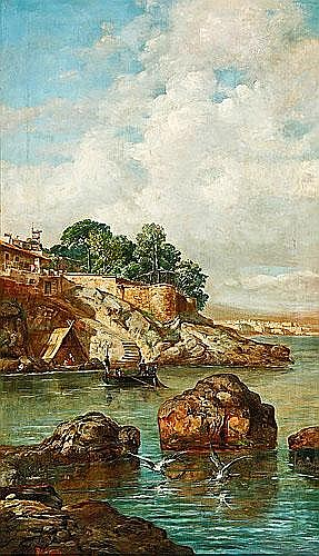 Ramon Martí Alsina (Barcelona, 1826-1894) Marina