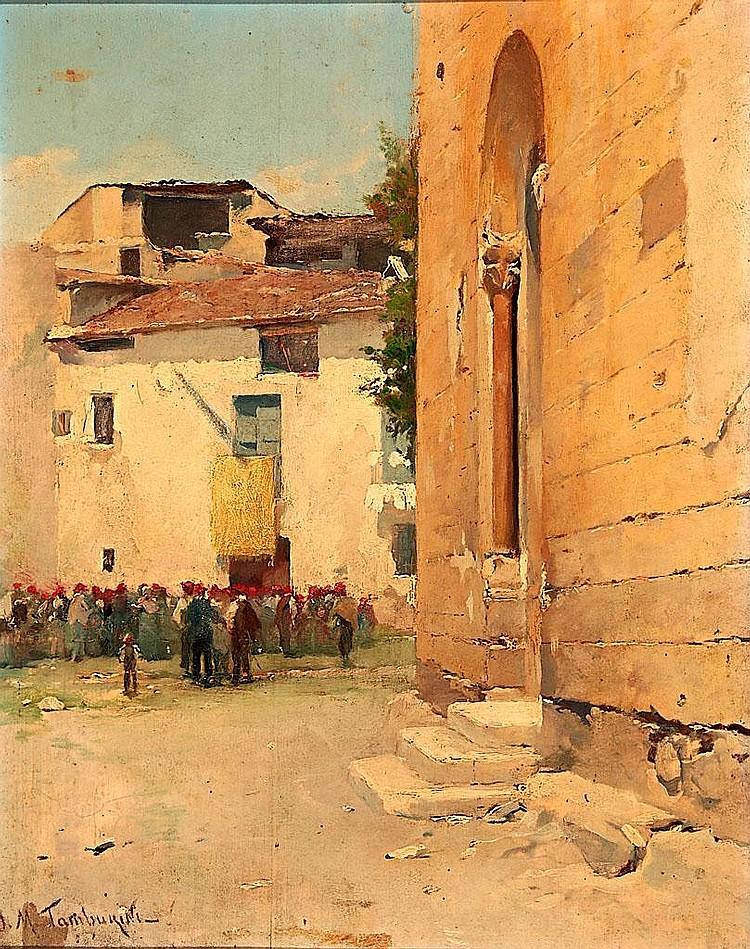 Josep Maria Tamburini (Barcelona, 1856-1932)