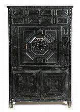 Napoleon III Louis XIII-style upright secretary