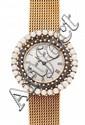 Universal Genève, reloj-joya de señora en oro y pedrería