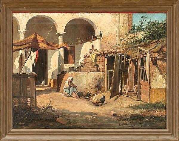 León Comeleran Perpignan 1830 - Barcelona c. 1885